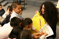 Jaime Abromovitz with kids is the Dreamalings Founder, creator and author
