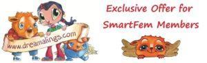 Dreamalings offer to SmartFem members