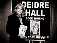 Deidre Hall-book signing-How Does She Do It?