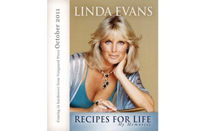 """SmartFem reviews Linda Evans New Book """"Recipes for Life"""""""