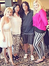 Lea Haben, Debbie Gaby, Alice Cooper, Morgan Cooper