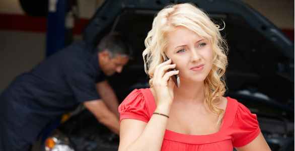 What woman want in an auto repair shop