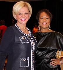 Deborah Bateman of National Bank of Arizona with Dr. Joel P. Martin - SmartFem photo