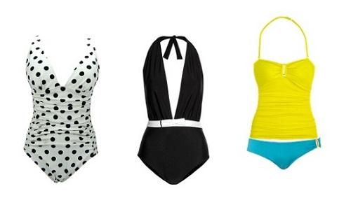 Apple Shape Swimsuit I