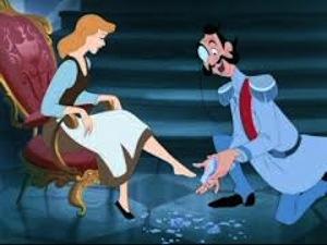 Cinderella - glass slipper