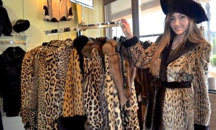 Evans Furs features Vintage Spring Collection