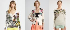 Floral print sweaters fashion