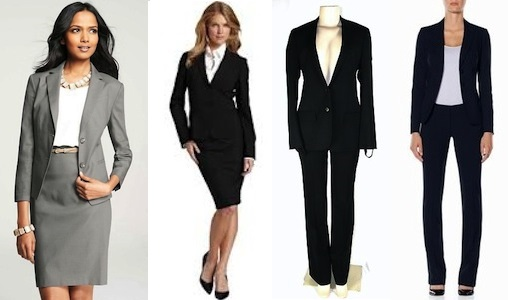 pant-skirt suits