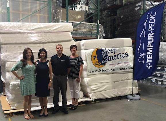 Sleep America, Tempur-Pedic and U-Haul helping Arizonan's get a good night's sleep
