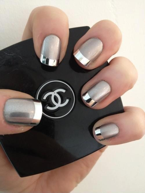 Four summer nail art ideas to try right now the new twist on the french manicure is chic and modern for this nail art look prinsesfo Choice Image