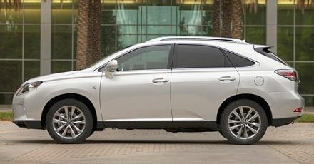 Weekend Luxury with the 2014 Lexus RX350 F Sport