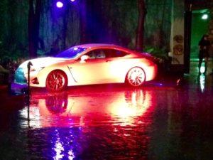 Lexus New Orleans Rain