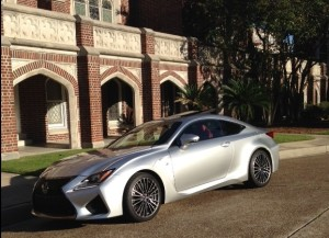 Lexus New Orleans car at University