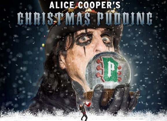 Alice Cooper and Sheryl Cooper on Solid Rock and Christmas Pudding 2014