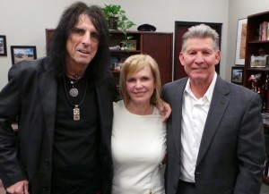 Alice Cooper with Lea Woodford and Coye Pointer