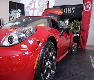 Alpha Romeo 4C with Coye Pointer at Airpark Dodge-300