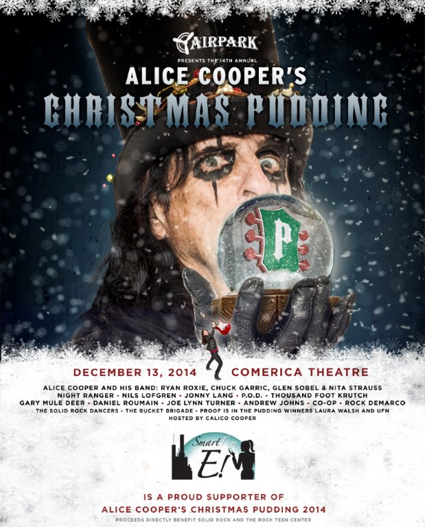 Alice Cooper's Christmas Pudding 2014 concert