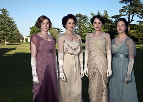 Dressing Up at Downton
