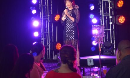 Sheryl Cooper Rocks the Runway for Solid Rock in Ruby Farias Designs