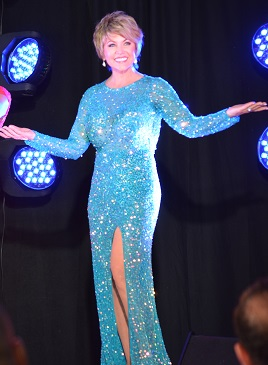 Sheryl Cooper Rocks The Runway For Solid Rock In Ruby
