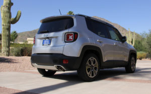 2015 Jeep Renegade photo rear
