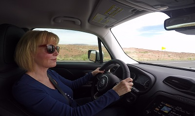 driving the 2015 Jeep Renegade