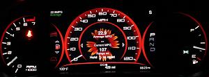 Dodge Dart review high tech instrument cluster