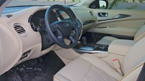 2015 Infiniti QX60 review interior
