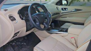 2015 Infiniti QX60 review interior