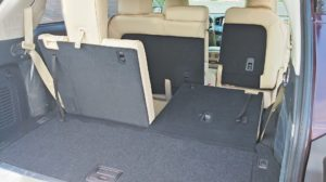 2015 Infiniti QX60 review interior space