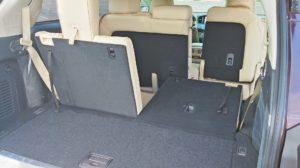 2015 Infiniti QX60 review interior space