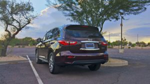 2015 Infiniti QX60 review photo rear