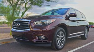 2015 Infiniti QX60 review exterior front photo