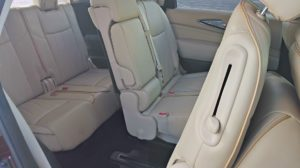 2015 Infiniti QX60 review rear seats
