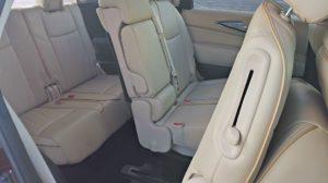 2015 Infiniti QX60 review rear seats