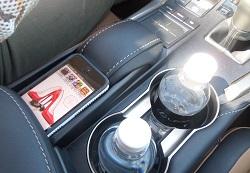 Lexus NX cupholder photo