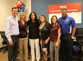 Alice Cooper Rock Teen Center Phoenix computer center dedication