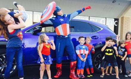 2015 Lexus NX Achieves Super Hero Status