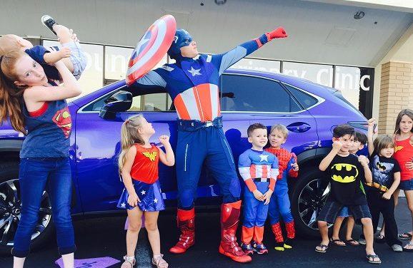 2015 Lexus NX Achieves Super Hero Status