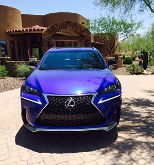 Lexus NX - Grille
