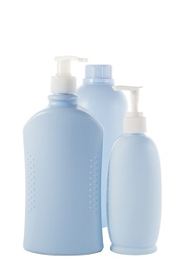 Bottles of Skincare products