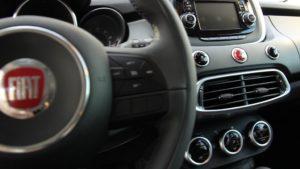 Fiat 500X center console interior