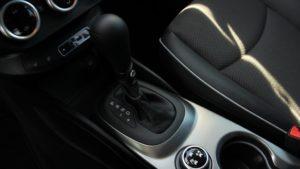 Fiat 500X mode selector center console