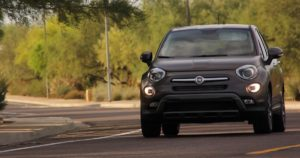 Fiat 500X review driving