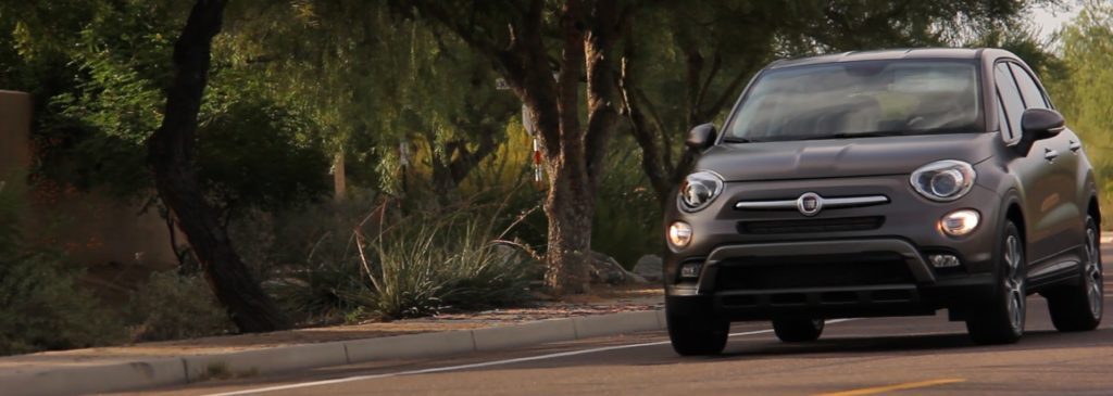 Fiat 500X review driving in Arizona
