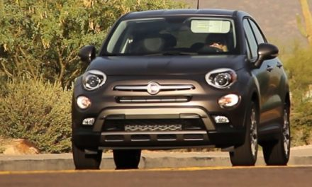 Introducing the New Fiat 500X, Trendy and High Tech