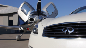 Infiniti Q60 convertible review with Cirrus SR22