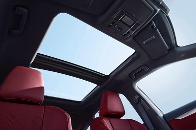 2016 Lexus RX sunroof