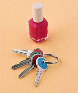 Painted Keys