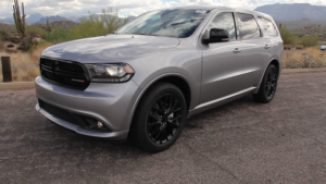 Dodge Durango photo at Bartlett Lake Arizona